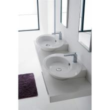 Countertop/wall-hung washbasin Wish Symmetrical