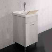 Laundry unit 45x50 cm with ceramic bathtub Unika