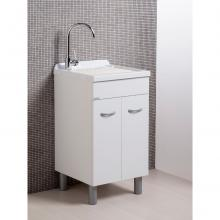 Wash-tub with cabinet two doors Sirena