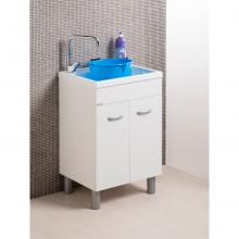 Wash-tub with cabinet two doors Lemon