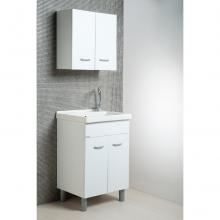 Laundry composition Oceano 60x50 with ceramic sink and table