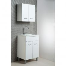 Laundry composition Sabbia 60x50 with ceramic sink