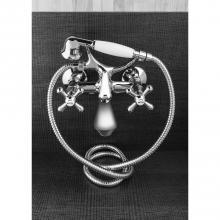 External bathtub mixer with shower accessories Croce