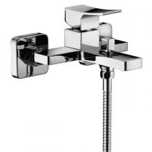 External bath mixer complete with shower kit Prestige