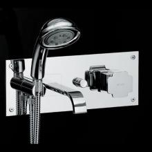 Built-in Single Lever Bathtub Mixer with Shower Set Vintage