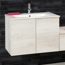 Wall-hung Cabinet for Washbasin with doors cm 70x45.5xH50 Unika