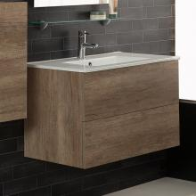Wall-hung Cabinet for Washbasin cm 80x45.5xH50 Unika