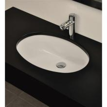 Under Countertop Washbasin cm 46.5x38 Oval 105