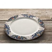 Scalloped Dinner Plate Deruta