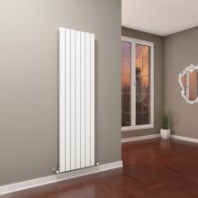 Single hydraulic radiator towel rail warmer H1800 mm Plain Vertical