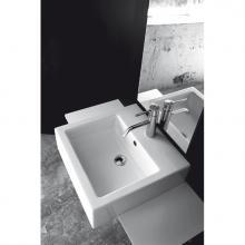 Semi Countertop Washbasin Quadro