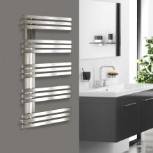 Stainless steel towel radiator L500 mm Alias