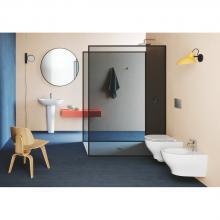 Wall-hung wc Easy Clean cm 52,5x35xh37,5  Pratica