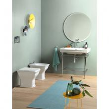 Back to wall Wc with floor drain Civitas