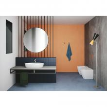 Back to wall wc Easy Clean 53x36 cm Comoda