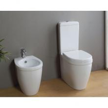 Close-coupled vase and bidet Young