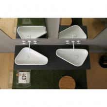 Countertop washbasin Scalene