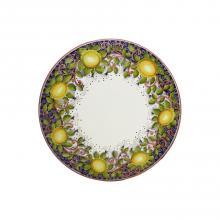 Round lava stone tabletop Limoni Toscani