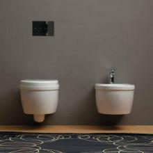 Wall-hung Wc and bidet Young
