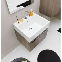 Ceramic washbasin 60x50 Volant