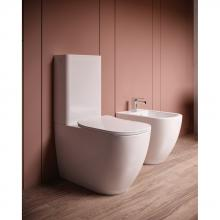 Close-coupled wc with cistern Faster