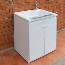 Outdoor sink with cabinet cm 60x50xH84 Zeus
