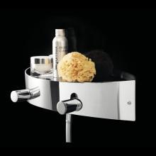 External Shower Mixer with Shelf Water Pot