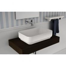 Rectangular Countertop Washbasin Giò