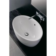 Oval countertop washbasin Matty