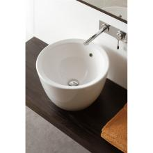 Round countertoo washbasin Matty