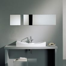 Countertop or wall-hung washbasin with hole Tsunami