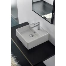 Wall-hung/countertop washbasin Teorema