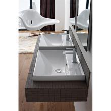 Drop In or wall-hung washbasin ML