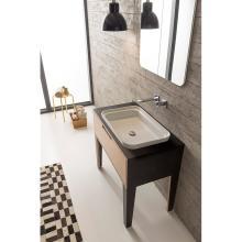 Rectangular drop in washbasin Mizu