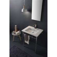 Wall-hung washbasin or on console Etra