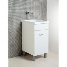 Laundry cabinet Oceano 45x51 with ceramic sink