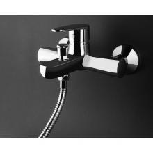 External bath mixer complete with shower kit Indy