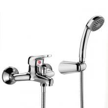 External bath mixer with shower kit Punta