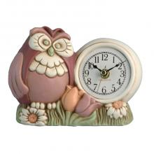Table Clock Owls