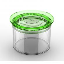 Round jar sealed 550cc
