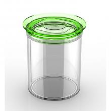 Round jar sealed 1000cc