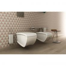Wc + Bidet Wall-hung Hi-Line