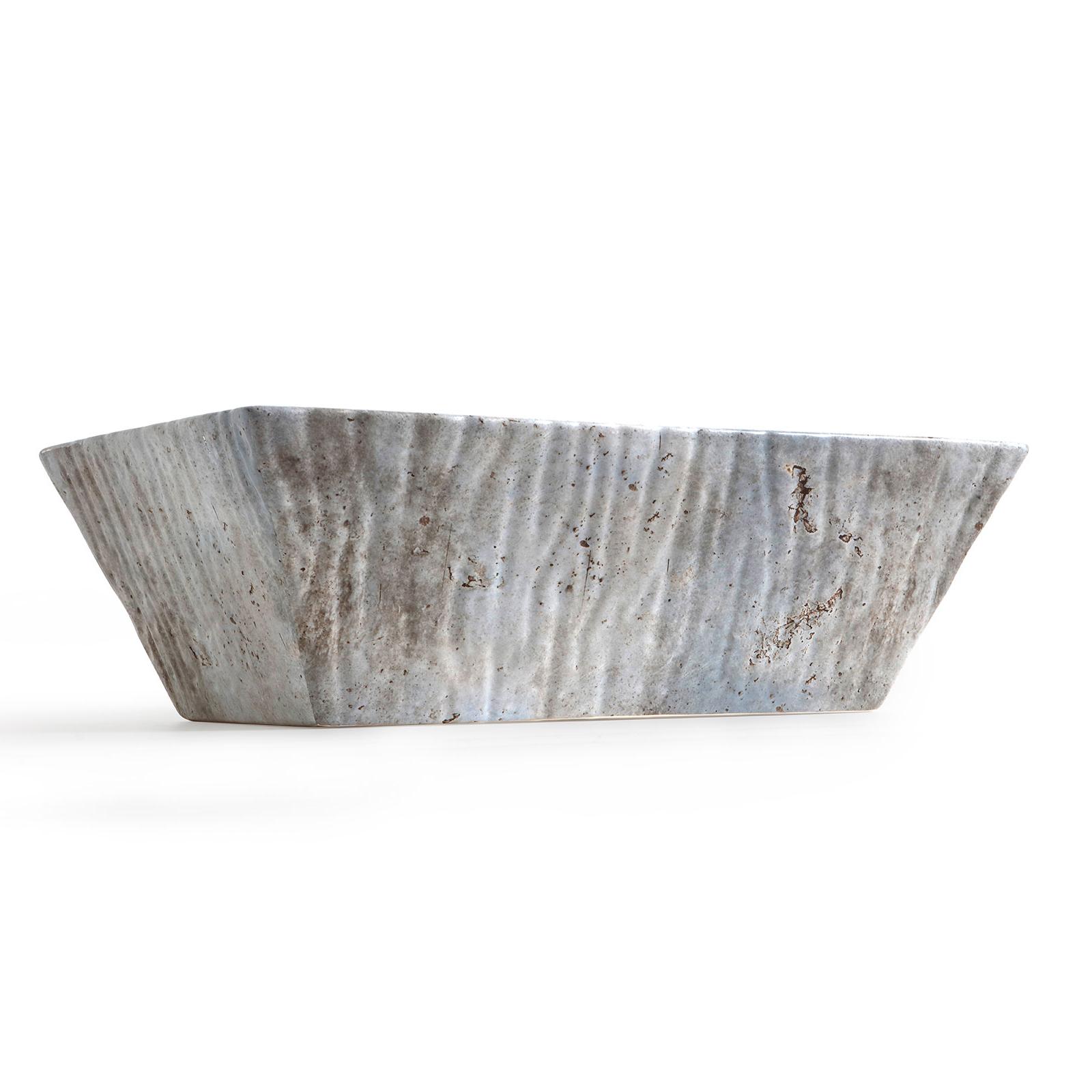 Rectangular Countertop/Wall-hung Washbasin Pietra Lime