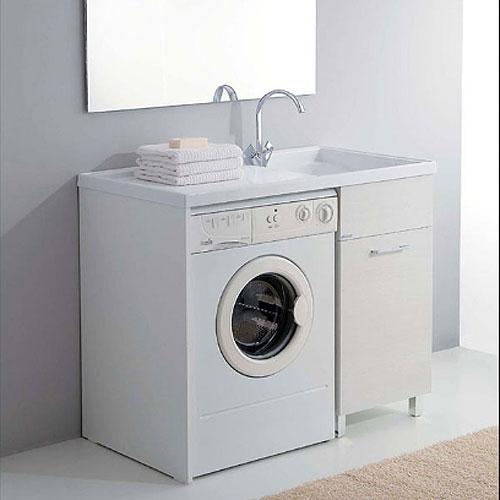 Washing machine cabinet with sink 106x60 Medusa