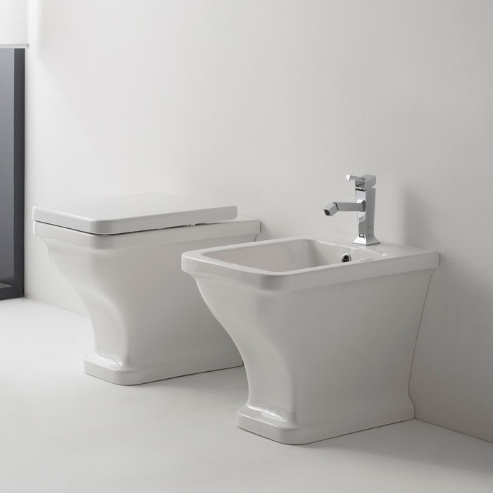 Back to wall sanitary ware Butterfly