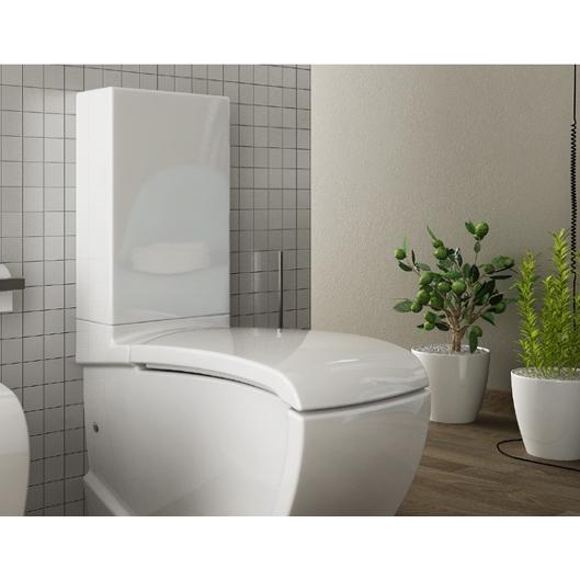 Ceramic Cistern for close-coupled wc Hi-Line