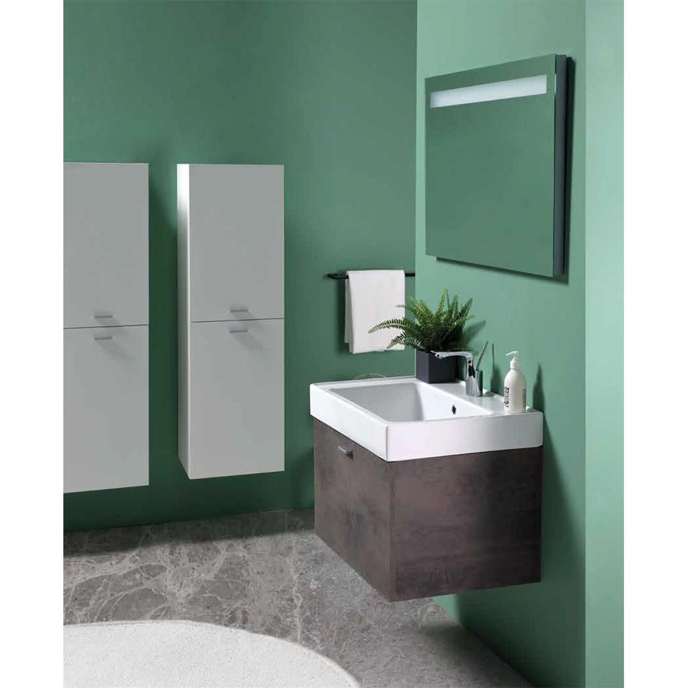 Suspended bathroom composition Trix 7