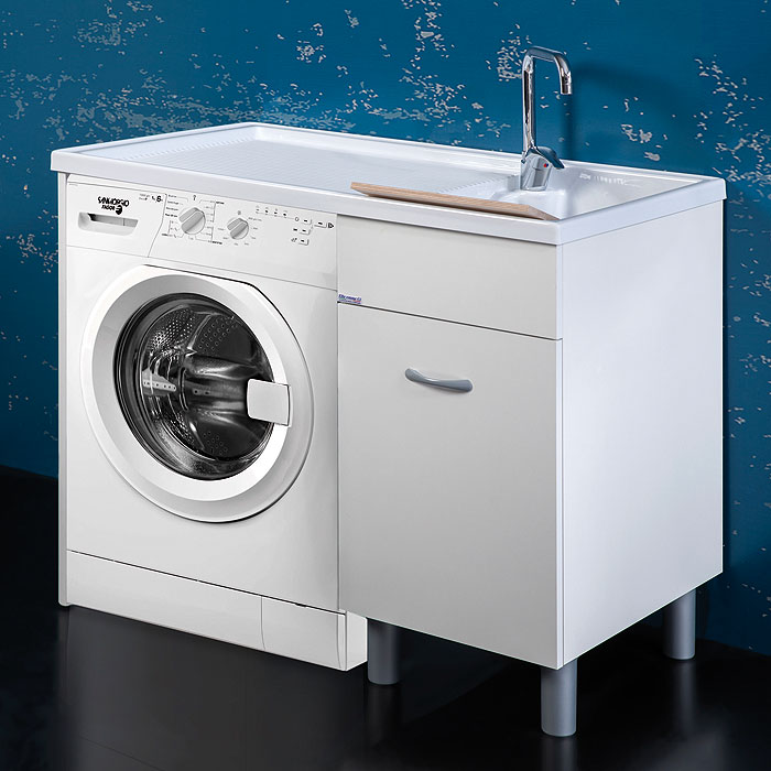 Washing machine cabinet 106x60xH90 Sirena