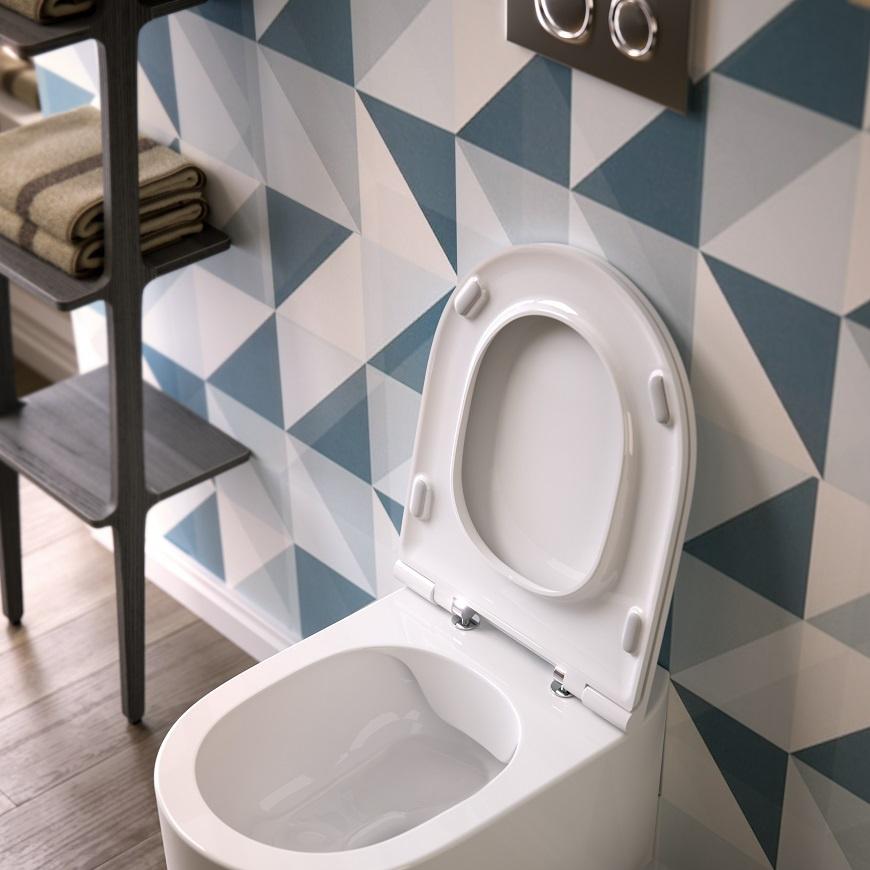 Wall-hung rimless wc Giò Evolution