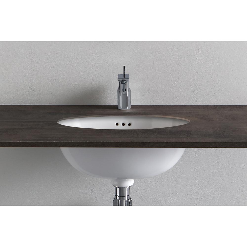 Under Countertop Washbasin cm 48.5x39 Chelsea